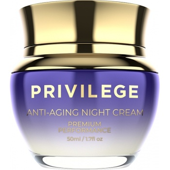 Privilege Face and neck anti-aging night cream (50 ml)